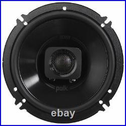 Pair Dual Polk Audio 6.5 600 Watt Marine Boat Wakeboard Tower Speakers