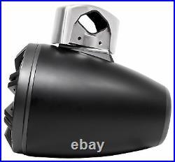 Pair KICKER 45KMTC8 8 600 Watt Marine Wakeboard Tower Speakers withLED's KMTC8