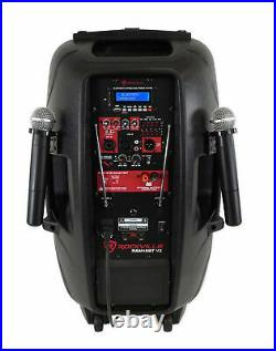 Pair KICKER 45KMTDC65 Dual 6.5 Marine Wakeboard Tower Speakers+Tailgate Speaker