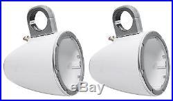 Pair Kicker 12KMTESW Marine 6 Or 6.5 Speaker Wakeboard Tower Enclosures KMTES