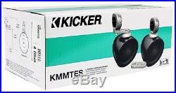 Pair Kicker 4 Empty Wakeboard Tower Enclosures For Jeep/ATV/UTV/RZR/Cart