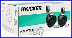 Pair Kicker KMMTES Mini Marine Wakeboard Tower Enclosures for 4-Inch Speakers