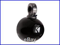 Pair Kicker KMMTES Mini Marine Wakeboard Tower Enclosures for 4 Inch Speakers