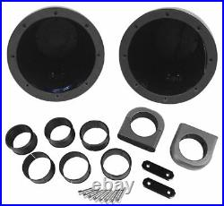 Pair Kicker KMTES Marine Wakeboard Tower Enclosures For 6 and 6.5 Speakers