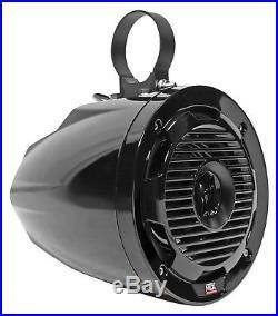 Pair MTX WET65T 6.5 300w Marine Boat Wakeboard Tower Speakers+Kenwood Sub+Amp