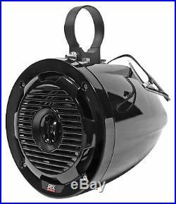 Pair MTX WET65T 6.5 300w Marine Boat Wakeboard Tower Speakers+Memphis Receiver