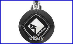 Pair Rockford Fosgate RM1652W-MB 6.5 Mini Wakeboard Tower Speakers-Black