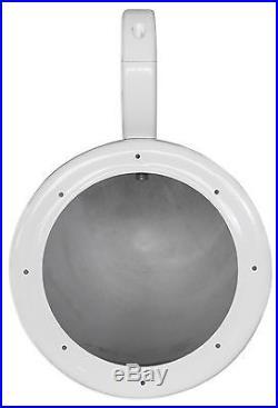 Pair Rockville MAC65W 6.5 White Aluminum Wakeboard Tower Speaker Pod Enclosures