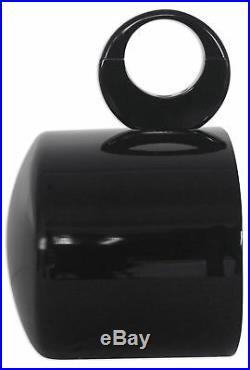 Pair Rockville MAC69B 6x9 Black Aluminum Wakeboard Tower Speaker Pods+Covers
