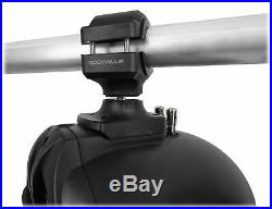 Pair Rockville RWB70B Black 6.5 250w Marine Wakeboard 360° Swivel Tower Speaker