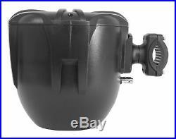 Pair Rockville RWB90B Black 8 300w Marine Wakeboard 360° Swivel Tower Speakers