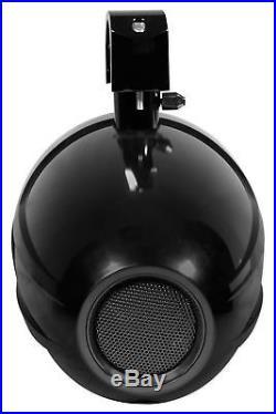 Pair SPORT8-B Power Sports 8 Marine Wakeboard Tower Speakers Swivel Clamp