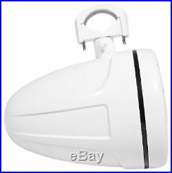 Pair SPORT8-W Power Sports 8 Marine Wakeboard Tower Speakers Swivel Clamp