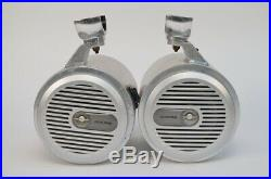 Pair of Alpine LoudLiquid Marine Speakers Wakeboard Tower Mount