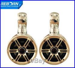 Pair of Reborn Single Rotatable Wakeboard Tower Speaker 6.5inch Polished Speaker