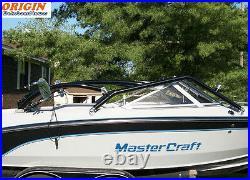Pkg of Origin Catapult Boat Wakeboard Tower Black + Polk 6.5 Wakeboard Speaker