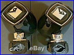Pm282w-b Rockford Fosgate / Punch Marine-powersports 8 Wakeboard Tower Speakers