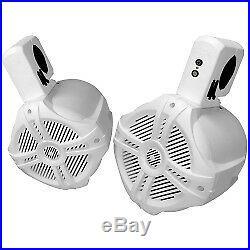 Prefered Tools SONMS-G65B 250 Watts Wireless Marine/Wakeboard Tower Speakers