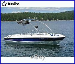 Promotion Pkg Indy Liquid boat wakeboard tower anodised plus pair Polk speaker