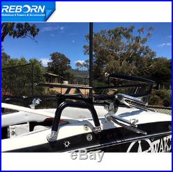 Promotion! Reborn Spiral Tower With Pair of Rotatable OEM Wakeboard Tower Speaker