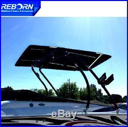 Promotion! Reborn Thrust Wakeboard Tower Polished+ Pro2 Extra Large Tower Bimini