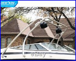 Promotion Reborn Thrust Wakeboard Tower Universal Fit Polished 5 Yrs Wrty