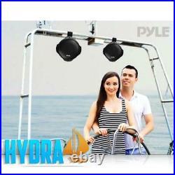 Pyle PLMRB65 6.5 200W Two Way Monster Wake Board Tower Marine Speakers Pair