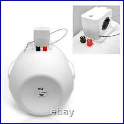 Pyle PLMRW65 6.5 200 Watt Dual Tower Marine Wakeboard Speakers (8 Speakers)