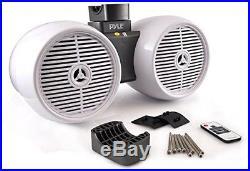 Pyle PLMRWB852LEW Hydra Tower Speakers, Wakeboard Marine Water Resistant Sound