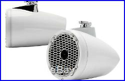 ROCKFORD FOSGATE PM282HW White 8 600W Marine Boat Wakeboard Tower Speakers