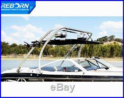 Reborn Thrust Wakeboard Tower Plus Flat Tower Bimini (Fit boat under 95in)