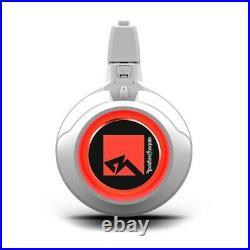 Rockford Fosgate M2WL-8H Color Optix Horn Wakeboard Tower Speakers Marine White