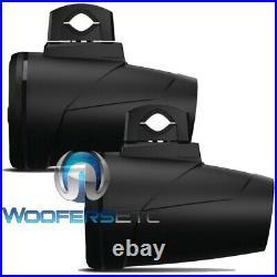 Rockford Fosgate M2wl-8b Black 8 Marine 1000w Boat Wakeboard Tower Speakers New
