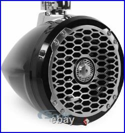 Rockford Fosgate PM2652W-MB 170W 6.5 2-Way Mini Wakeboard Tower Speakers Black