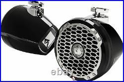 Rockford Fosgate PM2652W-MB 6-1/2 Wakeboard Tower Spkrs, Mini Black