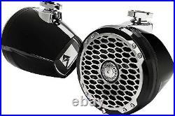 Rockford Fosgate PM2652W-MB Punch Marine 6.5 Mini Wakeboard Tower Speaker
