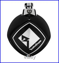Rockford Fosgate PM2652W-MB Punch Marine 6.5 Mini Wakeboard Tower Speaker Bla