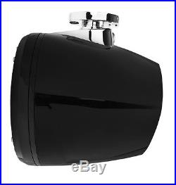 Rockford Fosgate PM2652W-MB Punch Marine 6.5 Mini Wakeboard Tower Speakers Pr