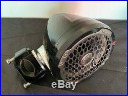 Rockford Fosgate PM2652W-MB Punch Marine 6.5 Mini Wakeboard Tower Speakers USED