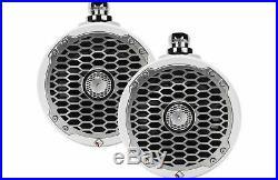 Rockford Fosgate PM2652W Punch Marine 6.5 Wakeboard Tower Speakers Pair