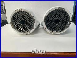 Rockford Fosgate PM282HW Marine 8 Wakeboard Tower Speaker Horn Tweeter Pair