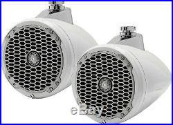 Rockford Fosgate PM282W White Punch 8 100W Wakeboard Tower Marine Speakers NEW
