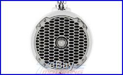 Rockford Fosgate Pm282w White 8 400w Marine Audio Boat Wakeboard Tower Speakers