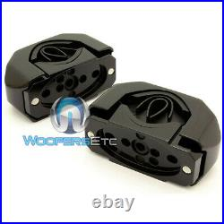 Rockford Fosgate Pm-cl1b Black Diecast Marine Wakeboard Tower Speaker Clamps New
