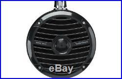 Rockford Fosgate RM1652W-MB 300W 6.5 Marine Mini Wakeboard Tower Speakers Black