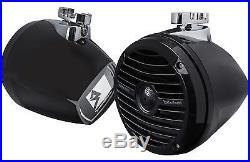 Rockford Fosgate RM1652W-MB Prime Marine 6.5 Mini Wakeboard Tower Speakers