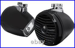 Rockford Fosgate RM1652W-MB Prime Marine 6.5 Mini Wakeboard Tower Speakers Pair