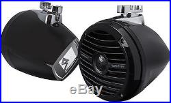 Rockford Fosgate Rm1652w-mb 6.5 Marine Boat Mini Pod Wakeboard Tower Speakers