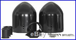 Rockville DMAC65B Dual 6.5 Black Aluminum Wakeboard Tower Speaker Enclosure