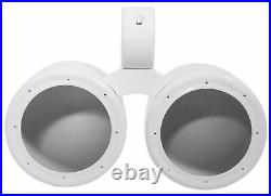 Rockville DMAC65W Dual 6.5 White Aluminum Wakeboard Tower Speaker Enclosure